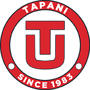Tapani logo, rebuilt to make use of vector graphics